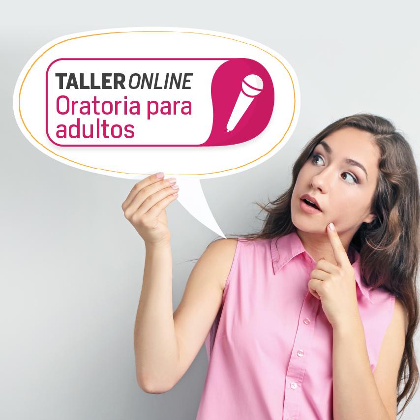Taller online de oratoria