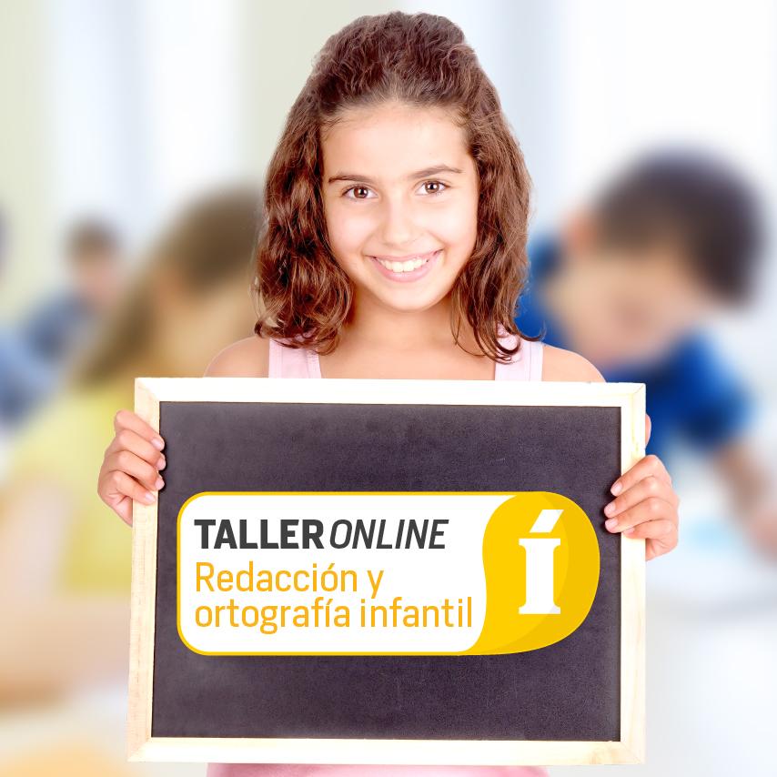 Taller online de redacción y ortografía infantil
