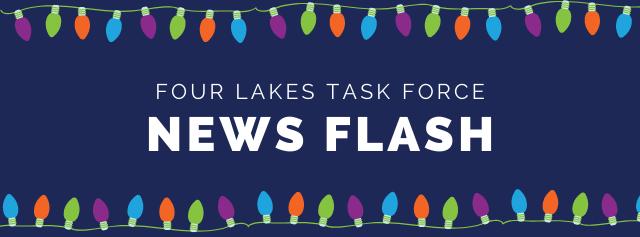 Four Lakes Task Force News Flash