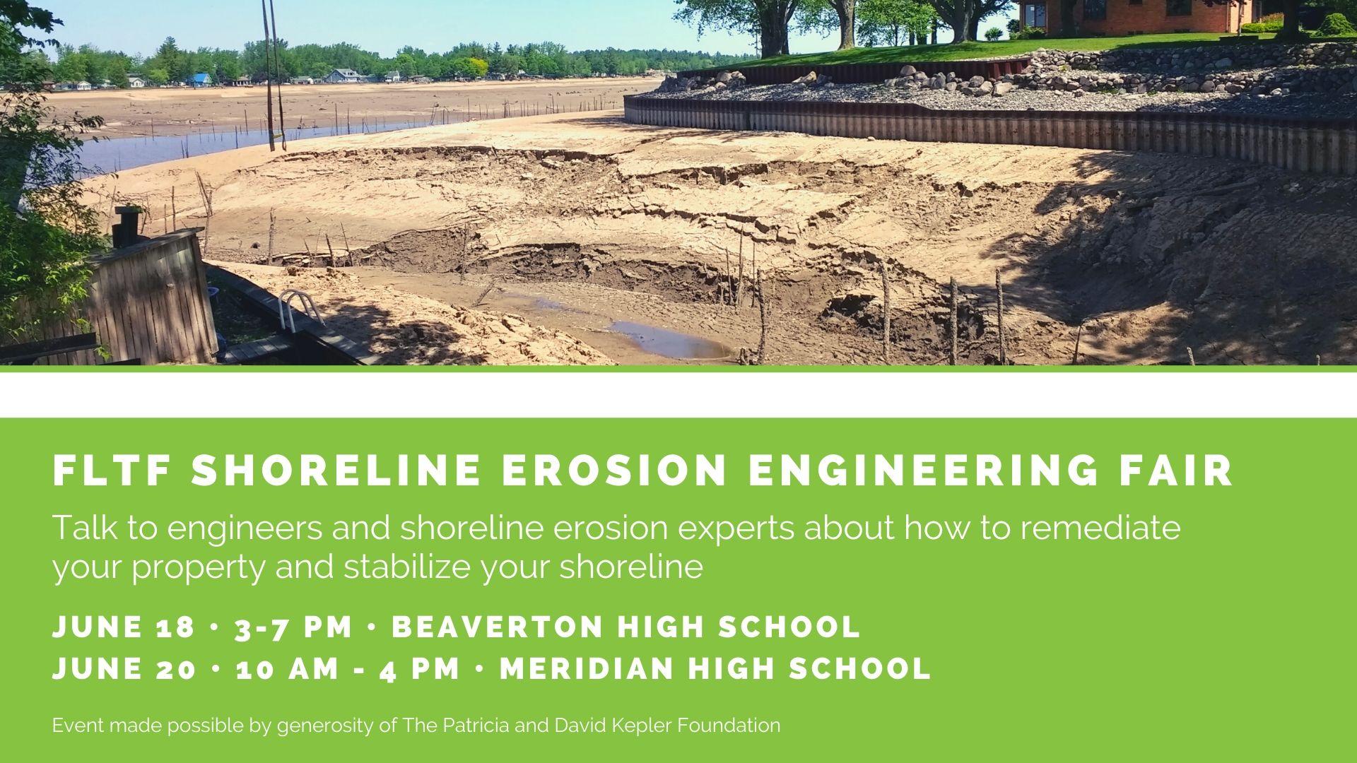 Shoreline Erosion Engineering Fair