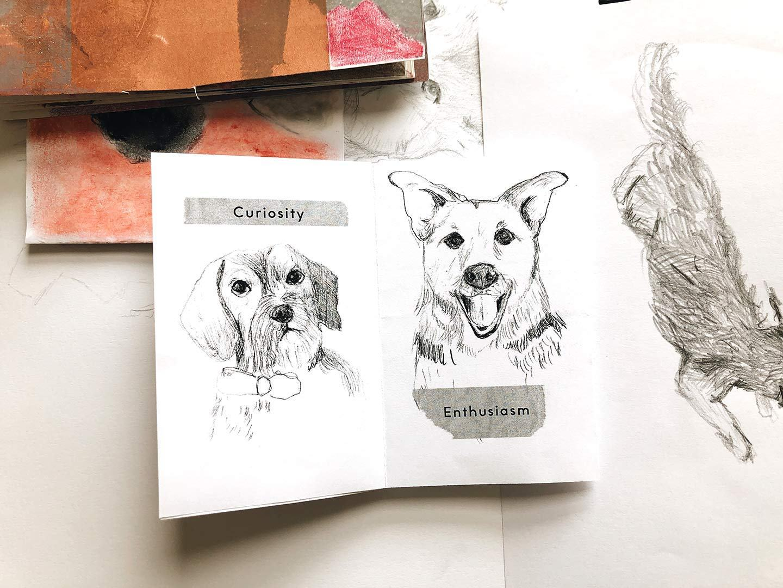 Pencil Dog Digital Zine Photo
