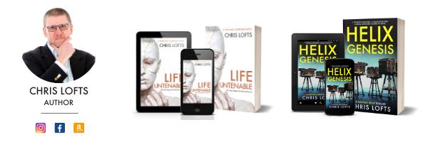 Chris Lofts Author