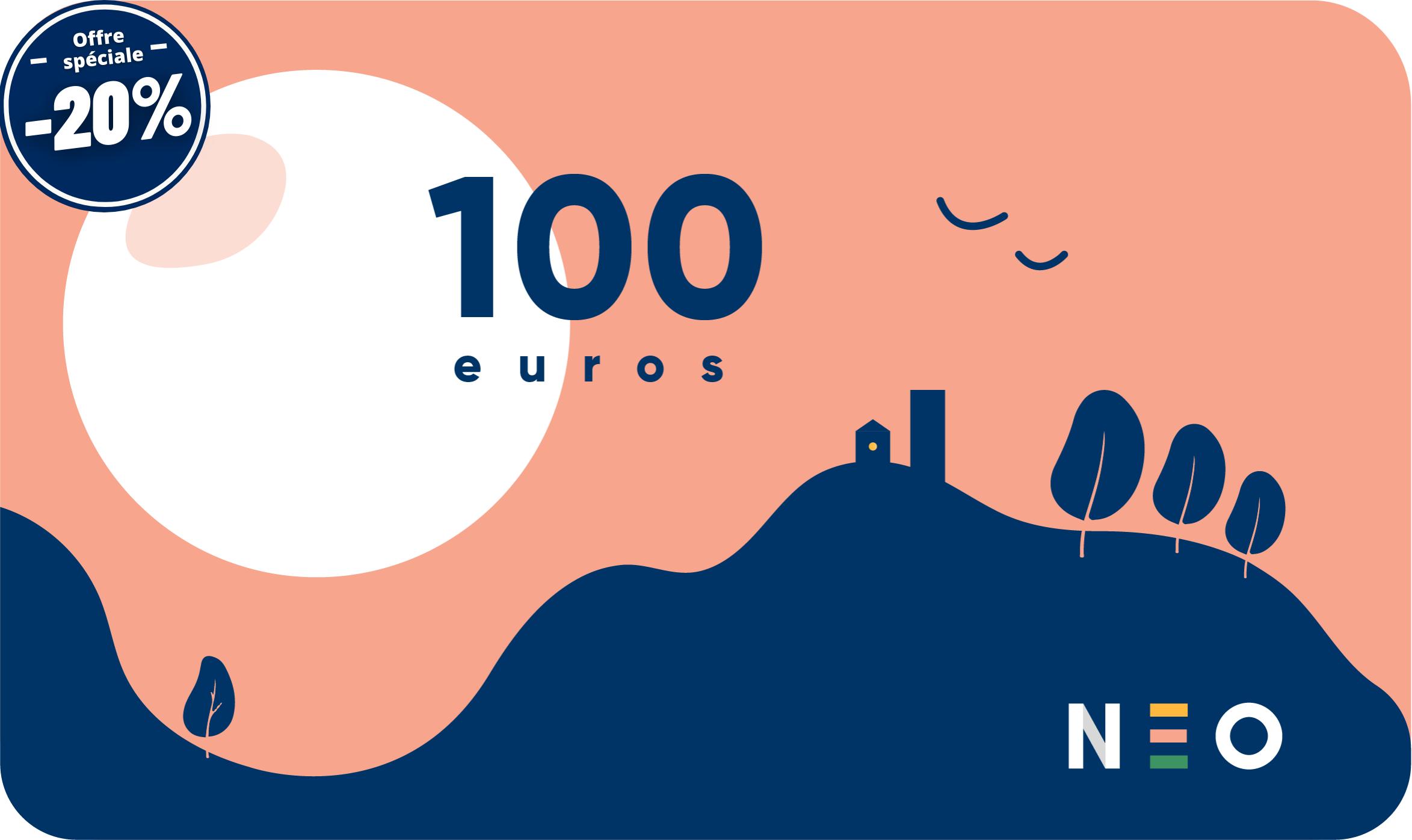 Carte cadeau 100 euros