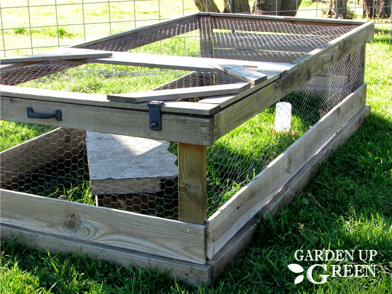Mobile Quail Coop in Action