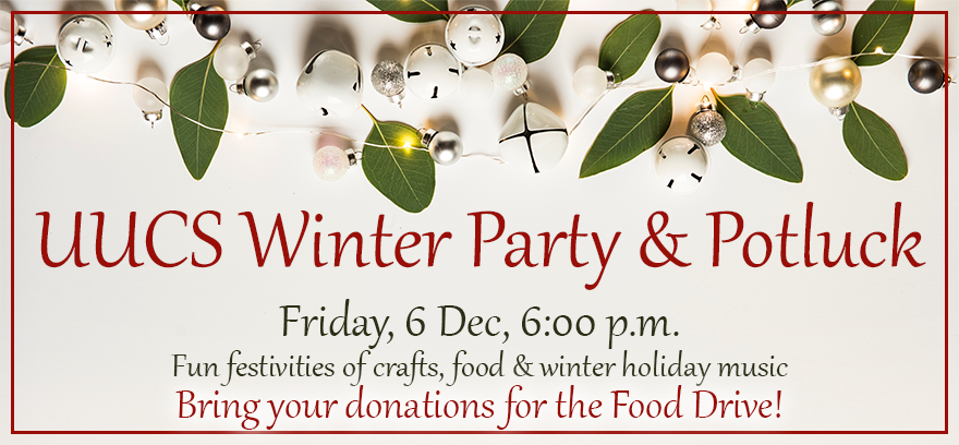 UUCS Winter Party and Potluck