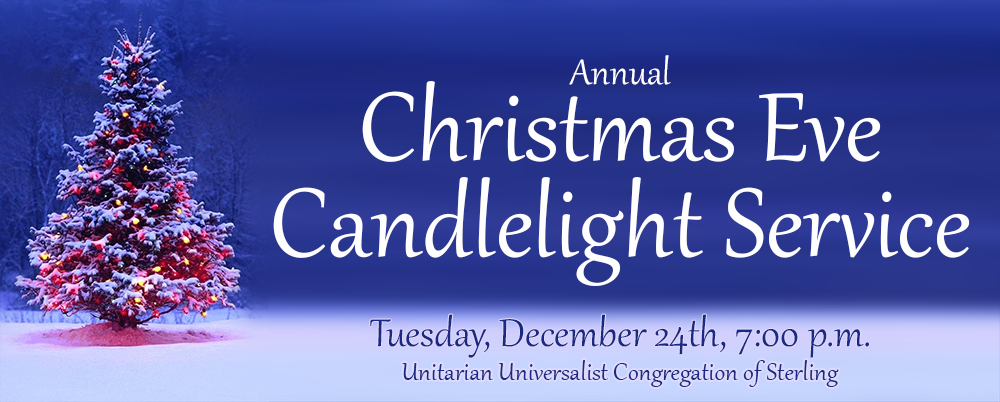 Candlelight Service 7:00 December 24th