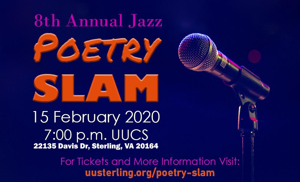 Poetry Slam - 15 February 7:00