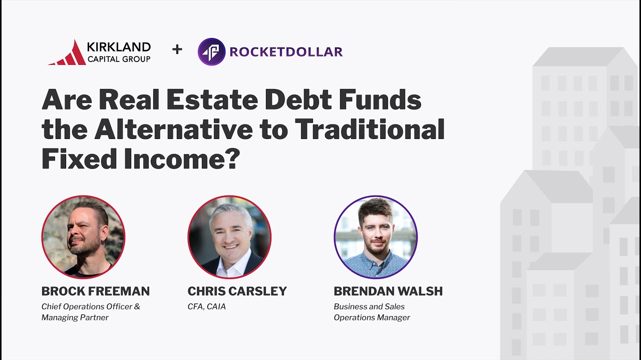 Are Real Estate Debt Funds a Replacement for Bonds?