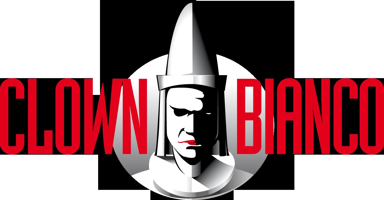 Logo Clown Bianco Edizioni