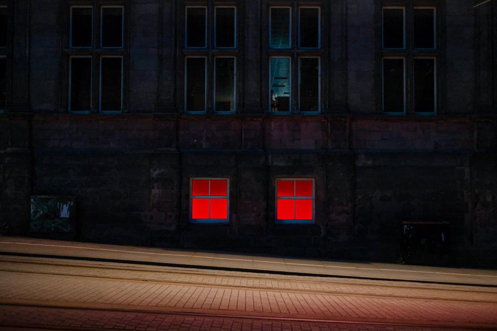 Street view at night (image © Unsplash)