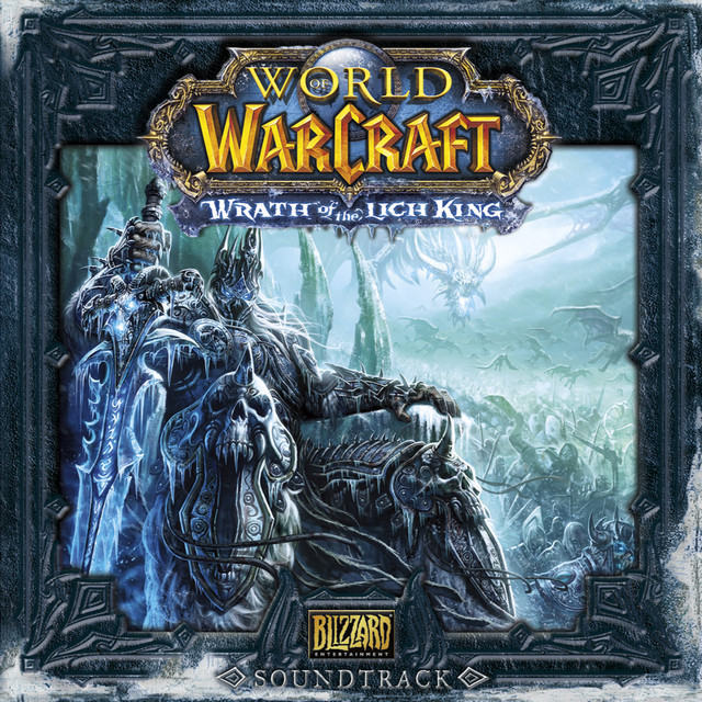 World of Warcraft: Wrath of the Lich King soundtrack cover