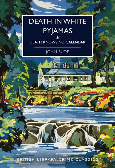 Image Shows the cover of Death in White Pyjamas