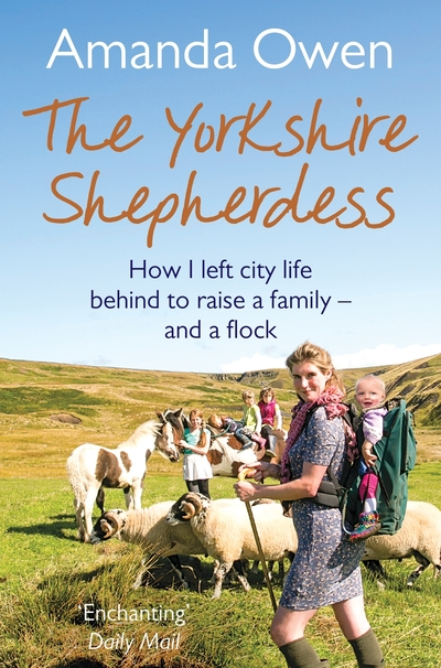 Image shows the cover of The Yorkshire Shepherdess