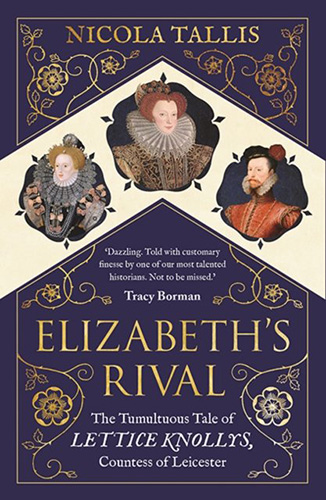 Image shows the cover of Elizabeth's Rival