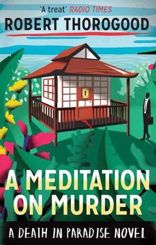 Image shows the cover of A Meditation on Murder
