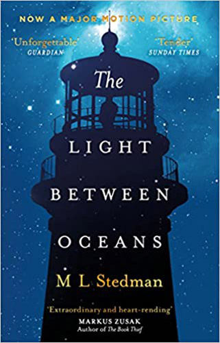 Image shows the cover of The Light Between Oceans by ML Stedman