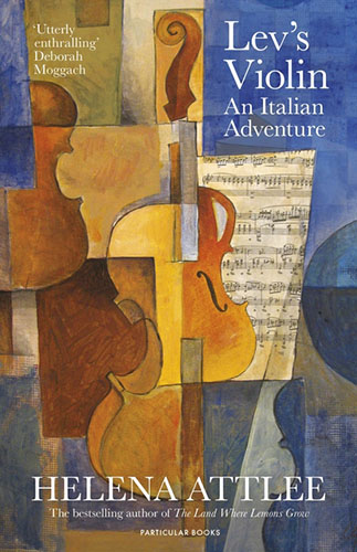 Image Shows the cover of Lev's Violin