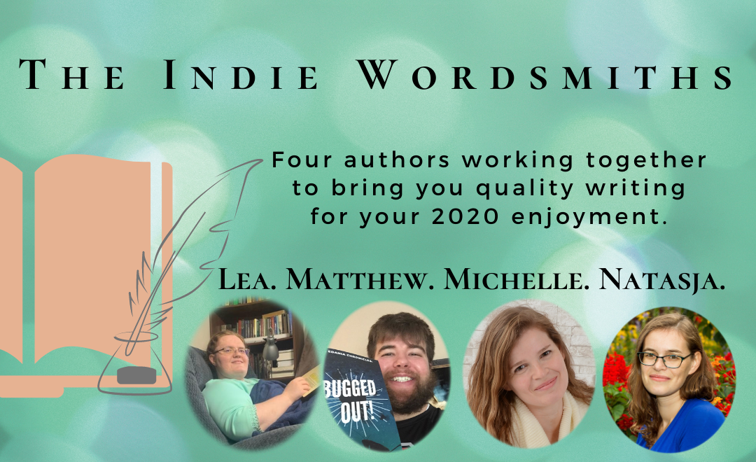 The Indie Wordsmiths. Four authors working together to bring you quality writing for your 2020 enjoyment.