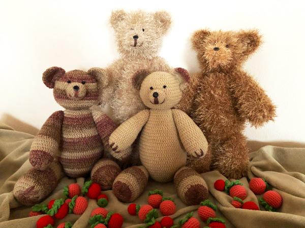 Схема вязания медведя