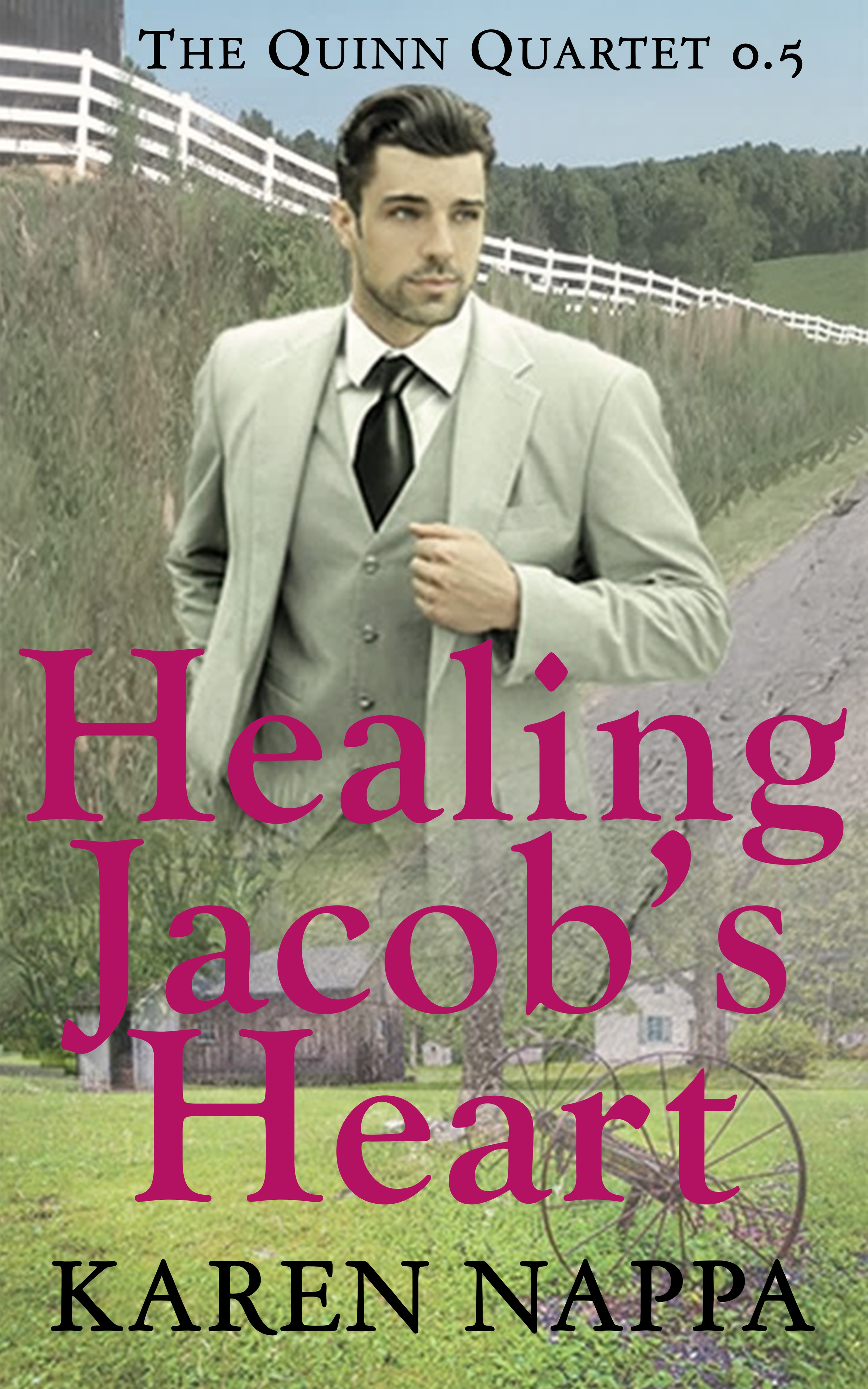 Healing Jacob's Heart - A interracial small town enemies to lovers story