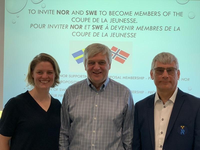 Anniken Ellingsen, Gary Harris, Joachim Brischewski