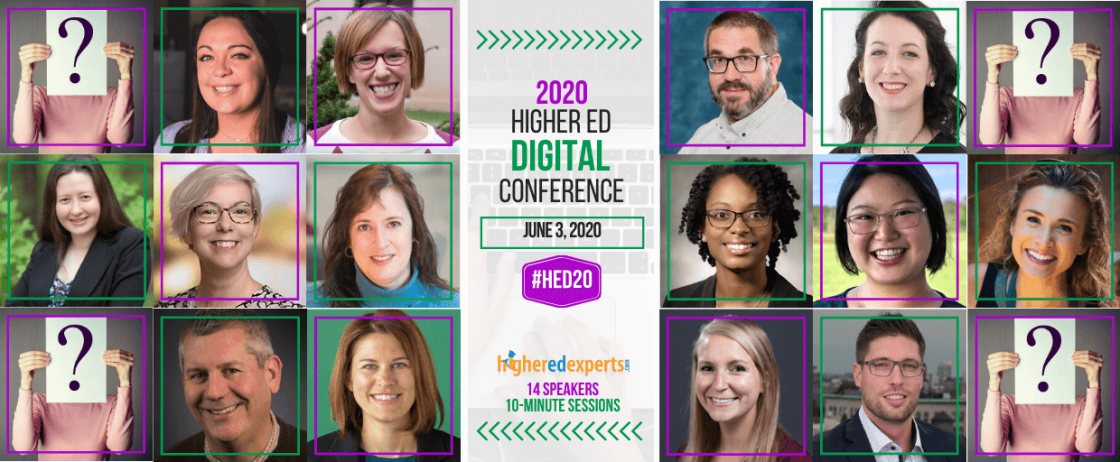 Register for the 2020 Higher Ed Content Conference!