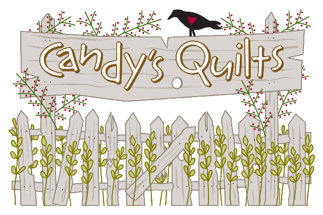Candy's Quilts. Thank you so much! You'll receive a notification when we're online, along with your special 15% discount in appreciation for your support.