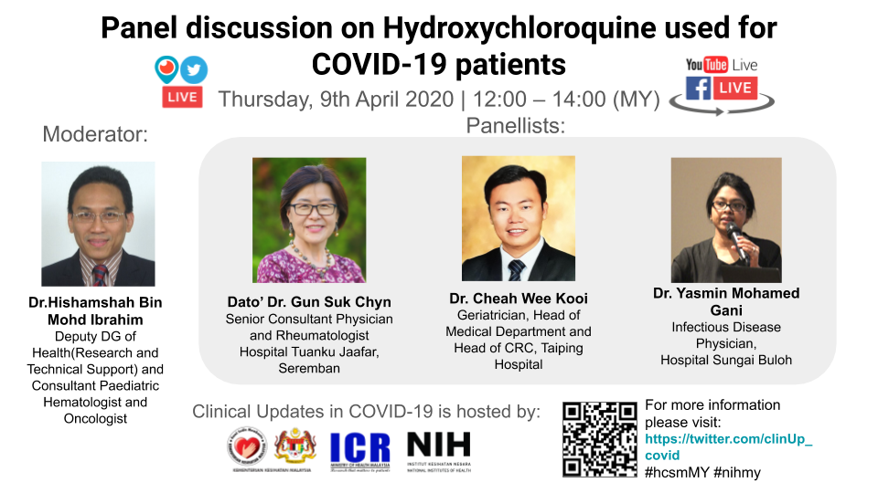 Webinar 04 - Clinical experience with Hydroxychloroquine for short- and long-term use