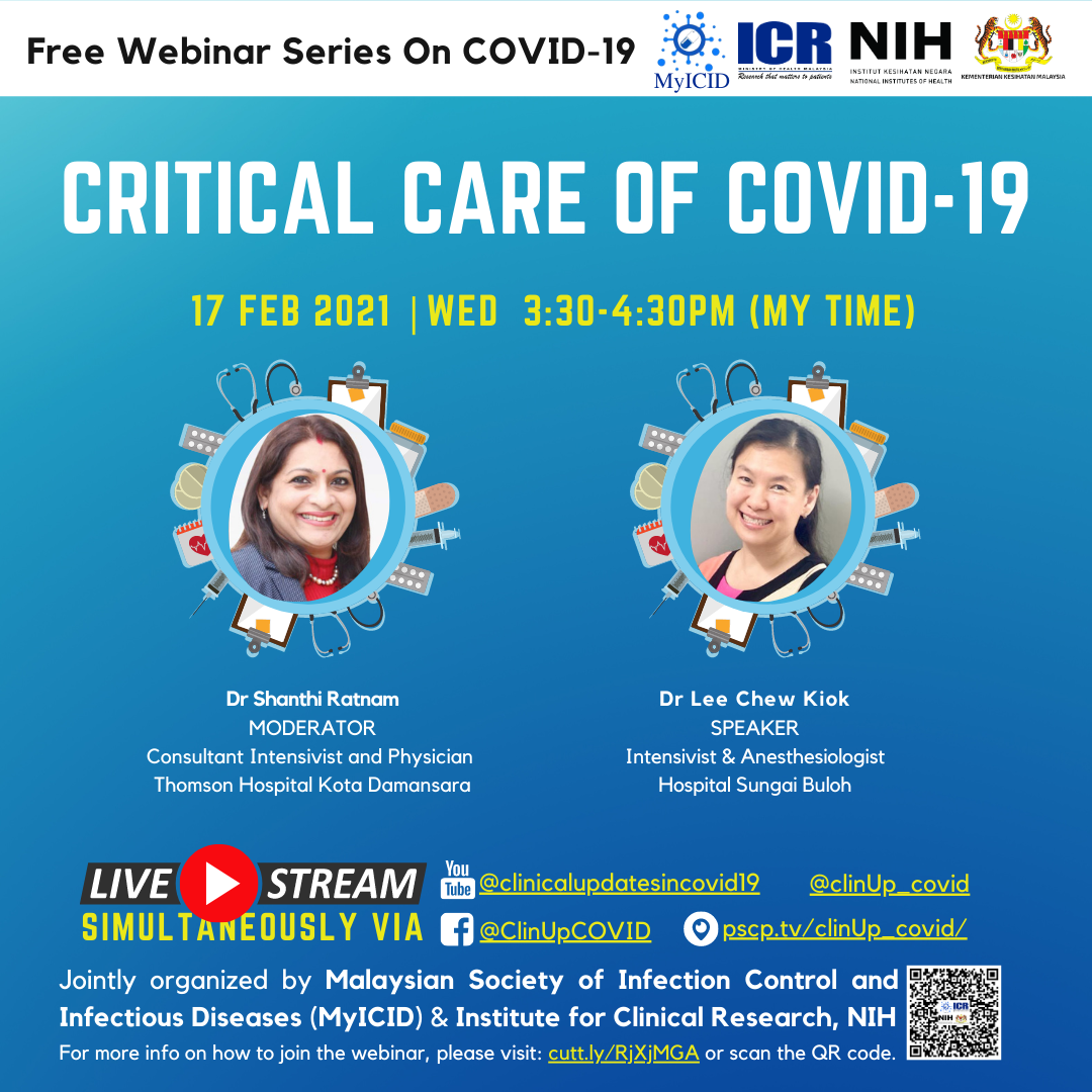 Critical Care of COVID-19