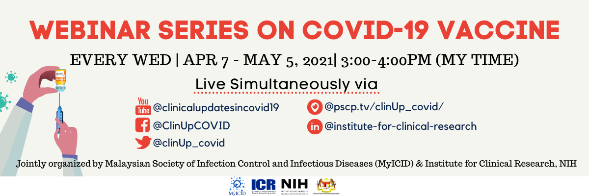 FAQ for Webinar Series On COVID-19
