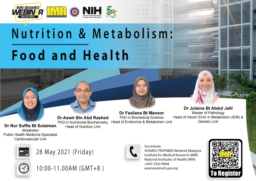 Nutrition & Metabolism - Food and Health