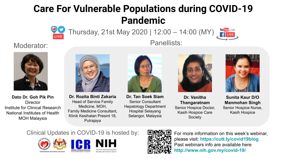 Webinar 09 - Care For Vulnerable Populations during COVID-19 Pandemic