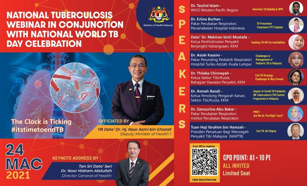 World Tuberculosis (TB) Day Webinar