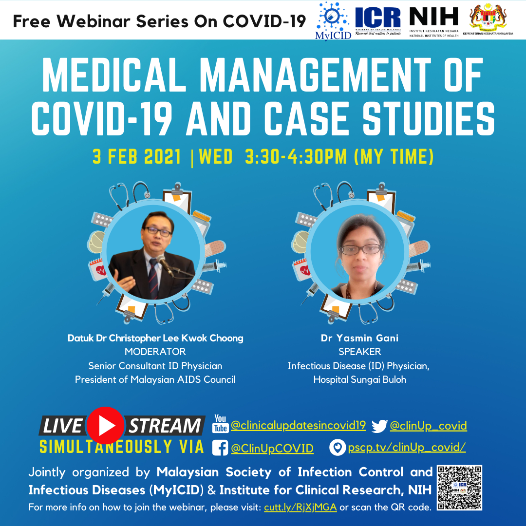 Medical Management of COVID-19 and Case Studies