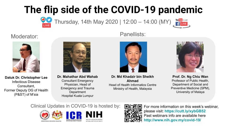 Webinar 08 - The flip side of the COVID-19 pandemic