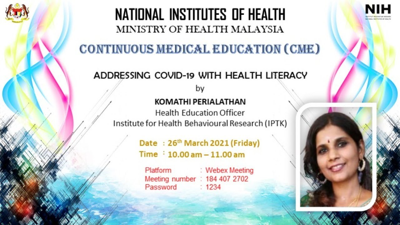 Addressing COVID-19 With Health Literacy