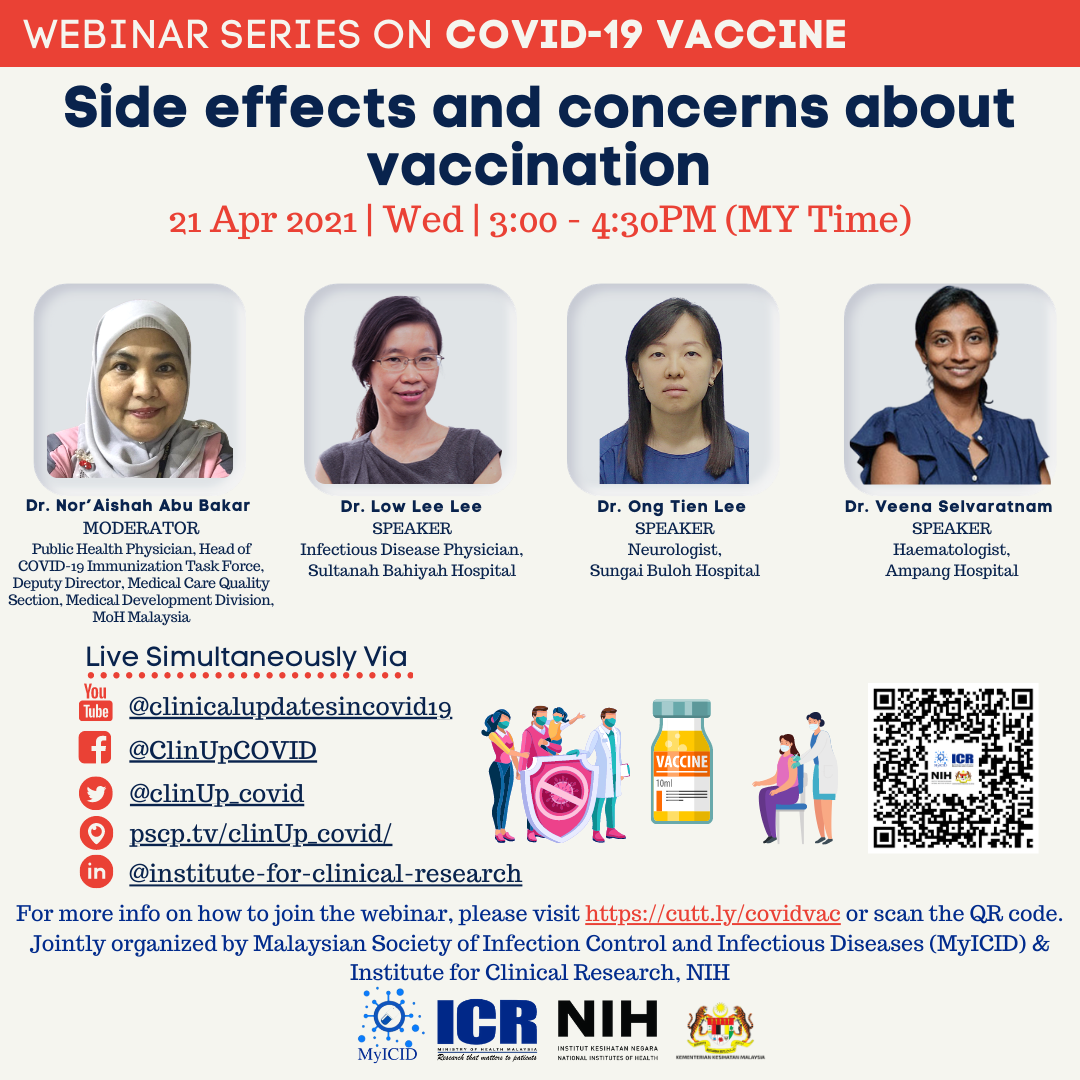 Side effects and concerns about vaccination
