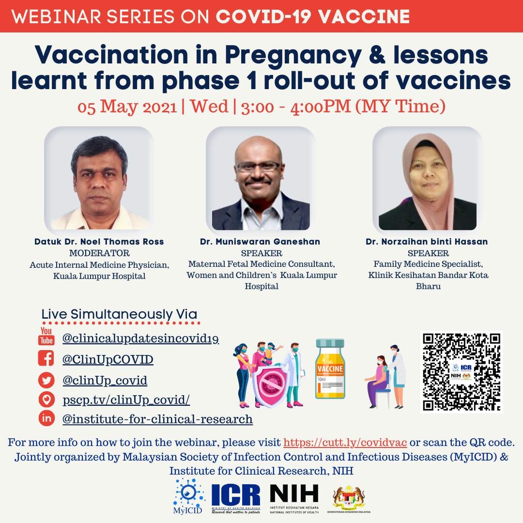 Vaccination in Pregnancy & Lessons Learnt From Phase 1 Roll-out of COVID-19 Vaccines