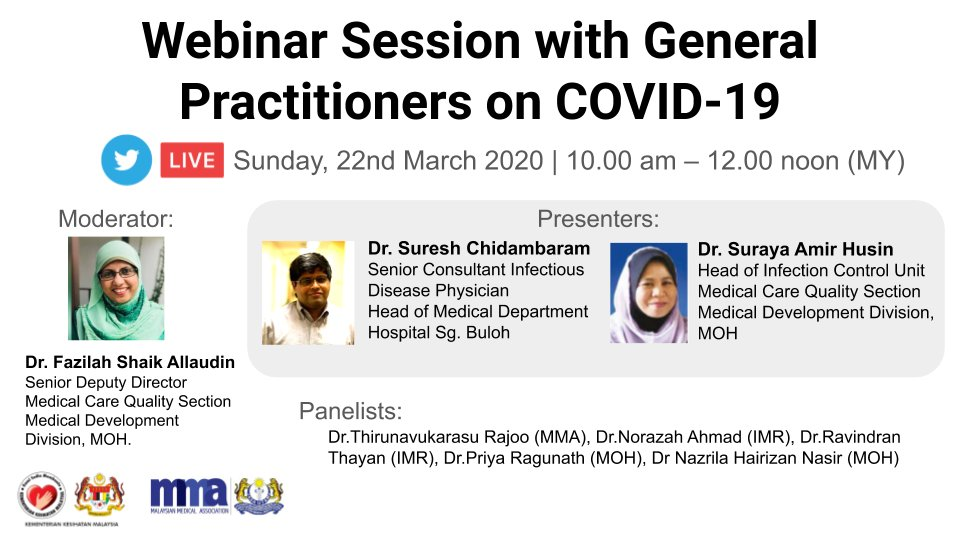 Webinar Session with General Practitioners on COVID-19