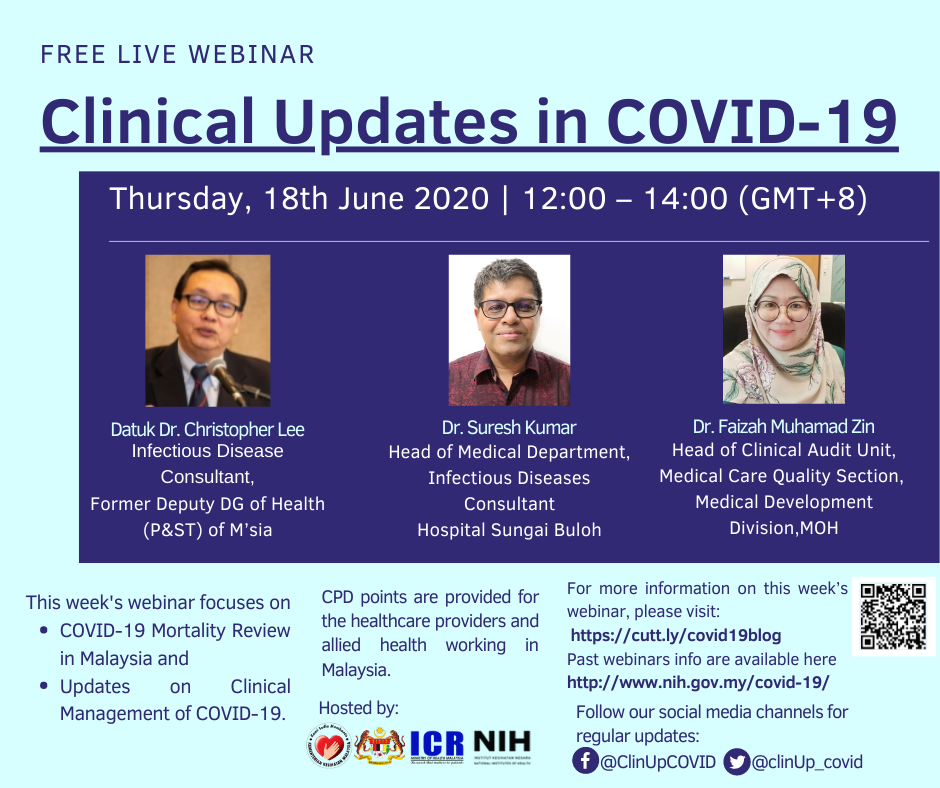 COVID-19 Mortality Review in Malaysia & Updates on Clinical Management of COVID-19