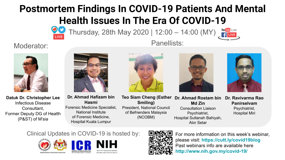 Postmortem Findings In COVID-19 Patients And Mental Health Issues In The Era Of COVID-19