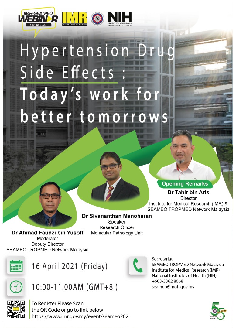 Hypertension Drug Side Effects: Today's work for better tomorrows