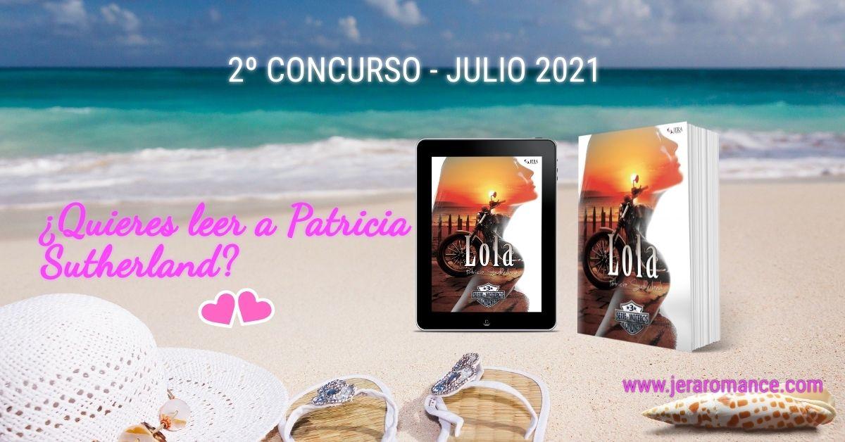 2º Concurso Internacional «Quiero leer a Patricia Sutherland». Julio 2021