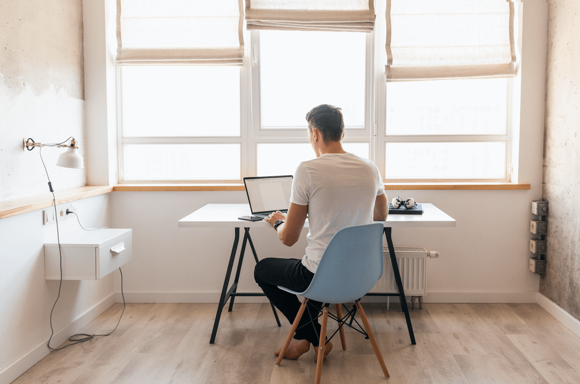 Rutinas sanas para mejorar tu productividad teletrabajando.