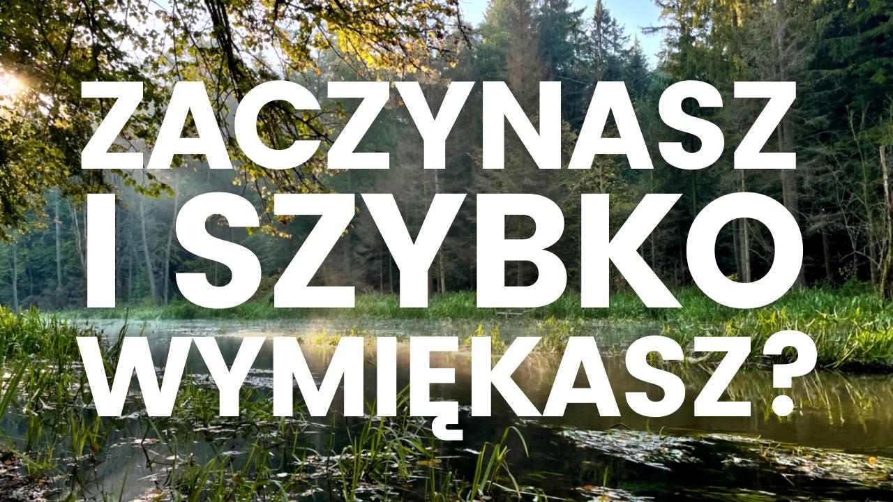 BY CHCIAŁO SIĘ CHCIEĆ - strategia działania bez pierdolenia i miauczenia [omnivlog #34]