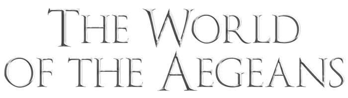The World of the Aegeans Logo: Links back to site homepage