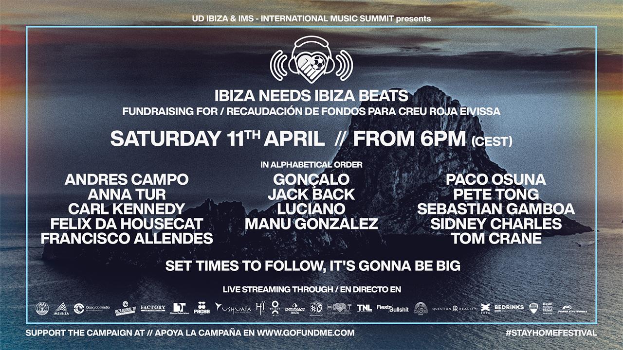 Ibiza Needs Ibiza Beats Poster
