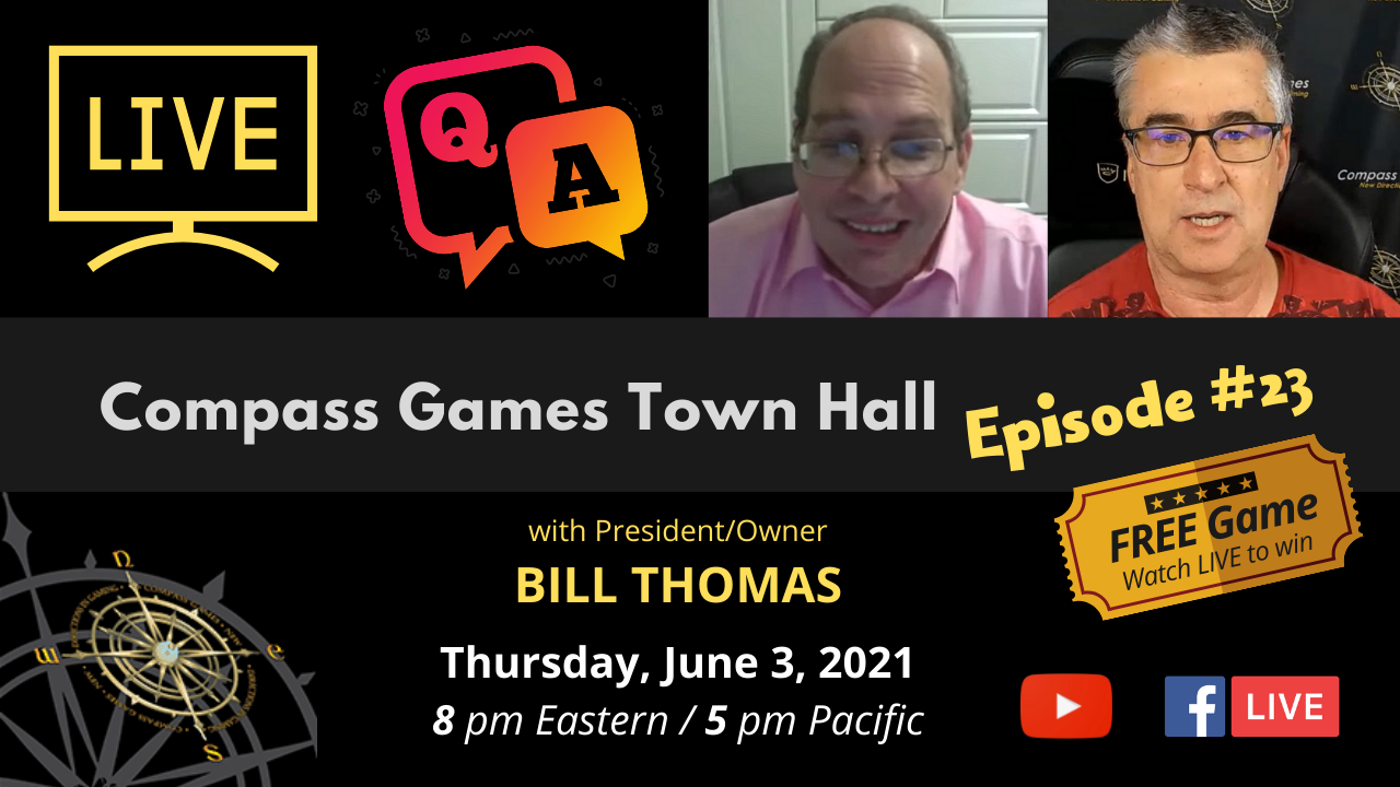 Compass Games Town Hall, Episode 23
