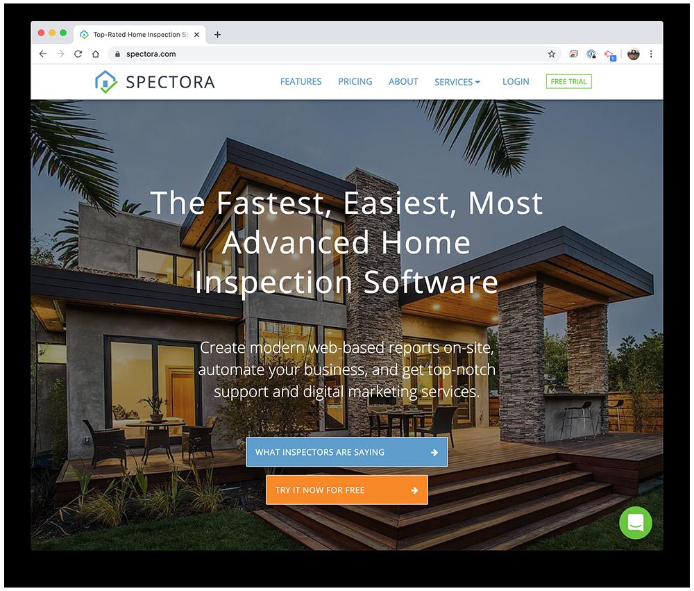 Spectora website