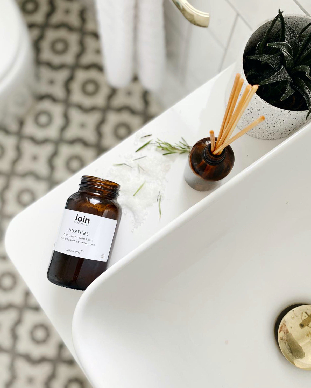 Join Handcrafted Luxury Bath Salt - Nurture. Natural, Organic, Vegan, Cruelty Free and Sustainable